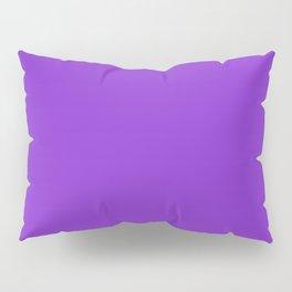 Solid Dark Purple Violet Color Pillow Sham