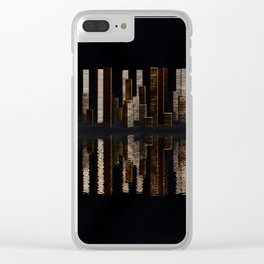 Staple City, Skyline Clear iPhone Case