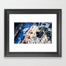 NYC - Miniature Street Framed Art Print