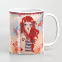 pirate Mugs featuring Pirate by Minasmoke