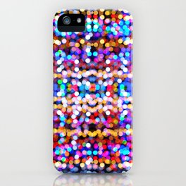 Multicolored lamp shades iPhone Case