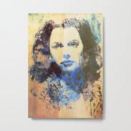 Divas - Hedy Lamarr  Metal Print