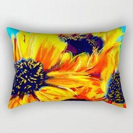 Girasol Nine Rectangular Pillow