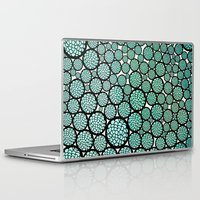 huebucket Laptop & iPad Skins featuring Blooming Trees by Pom Graphic Design