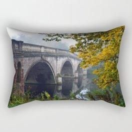 The Bridge At Clumber Park Rectangular Pillow