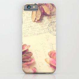 Victoria 1946 - Love Letter iPhone Case