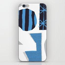 Blue Jazz iPhone Skin