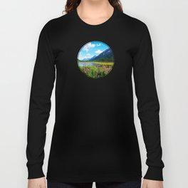 God's Country - Summer in Alaska Long Sleeve T-shirt
