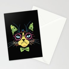 Sugar skull cat Stationery Cards