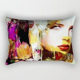 Femme Fatal Rectangular Pillow