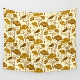 Sunfield Poppies Wall Tapestry