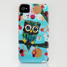 :: Gemmy Owl Loves Jewel Trees :: Slim Case iPhone (4, 4s)