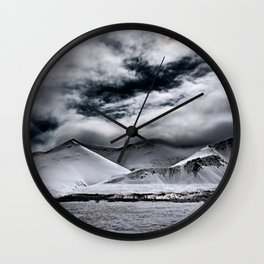 Deadly Mountains Wall Clock