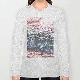 Soft Sea Swash Wave Long Sleeve T-shirt