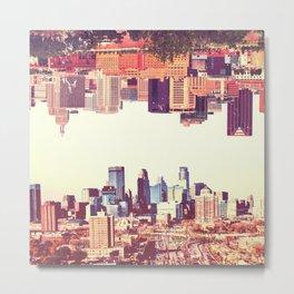 Twin Cities Metal Print