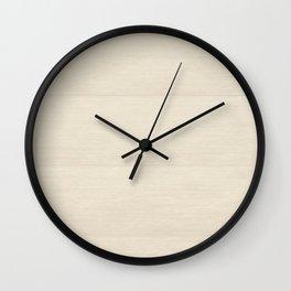Bone Blocks Wall Clock