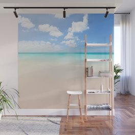 Beach vacation background Wall Mural