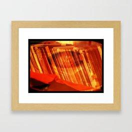 Flip the Side Framed Art Print
