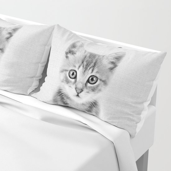 Kitten - Black & White by galdesign