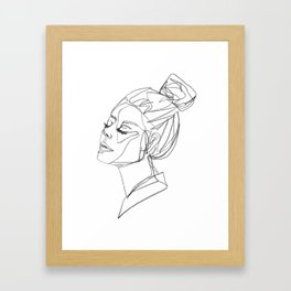 saskia Framed Art Print