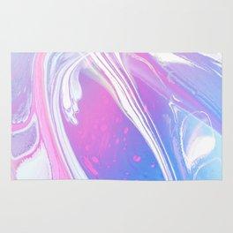 Ankaa II - Abstract Costellation Painting - Pastel Foam. Rug