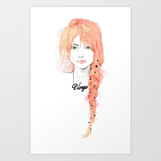 Vierge Art Print