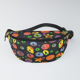 colored BOOM! Colored pattern Fanny Pack