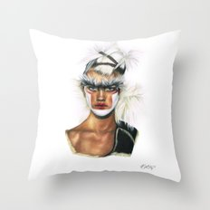 Fashion High. Throw Pillow
