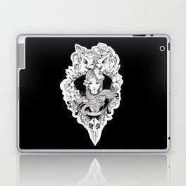 calavera lady Laptop & iPad Skin