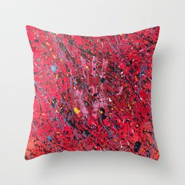 Emotion on Canvas, 2016 Throw Pillow