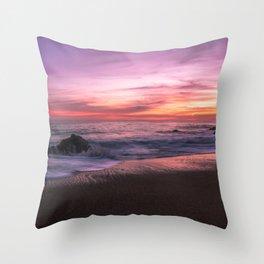 Feeling the Breezes Throw Pillow