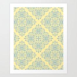 Pretty Pillow Pattern Art Print