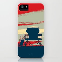 Tower Graphic iPhone Case