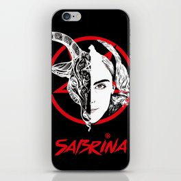 chilling adventures of sabrina iPhone Skin