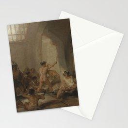 La Casa de Locos Francisco Goya Stationery Cards
