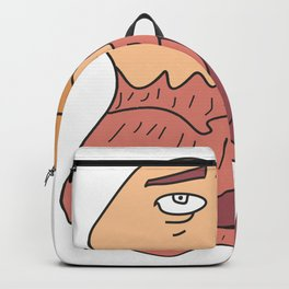 Eagle thinking  #society6 #printart #decor #buyart Backpack