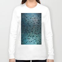 grid Long Sleeve T-shirts featuring Grid by Tayler Smith