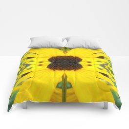 Trippy Sunflower Comforters