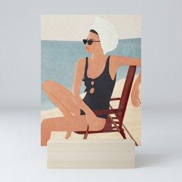 Beach Life Mini Art Print