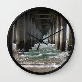 Splashing the HB Pier Wall Clock