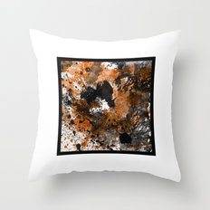 Boxed Abstract Throw Pillow