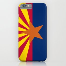 Arizona flag iPhone Case