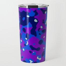 Abstract organic pattern 13 Travel Mug