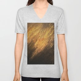 Gold to the touch Unisex V-Neck
