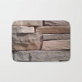 Artisan Masonry Stone House Front Detail 001 Bath Mat