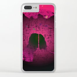 Planetary Mood 6 / Two Inside Doors Clear iPhone Case