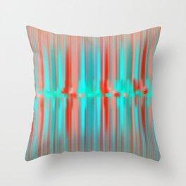 Seismic Shift Throw Pillow