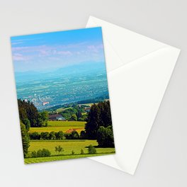 Urban and rural all together Stationery Cards