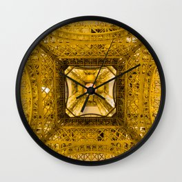 New View Under Old Charm Wall Clock