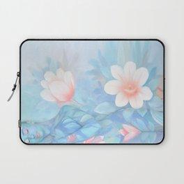 Blue Flowers Dream - Bodyart - Photography by Lana Chromium - beauty - woman - body - soul Laptop Sleeve